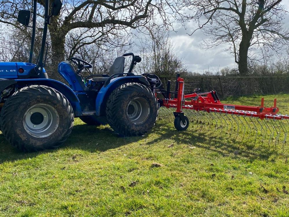 Tine Harrowing Agri-Vision