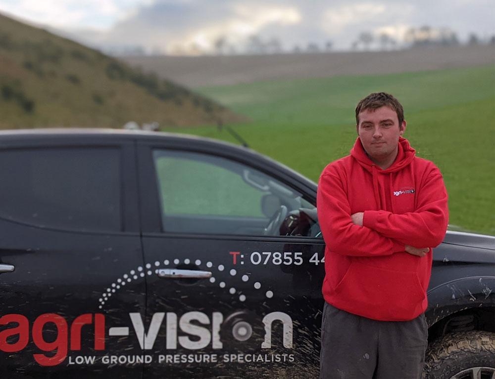 Andy at Agri-Vision