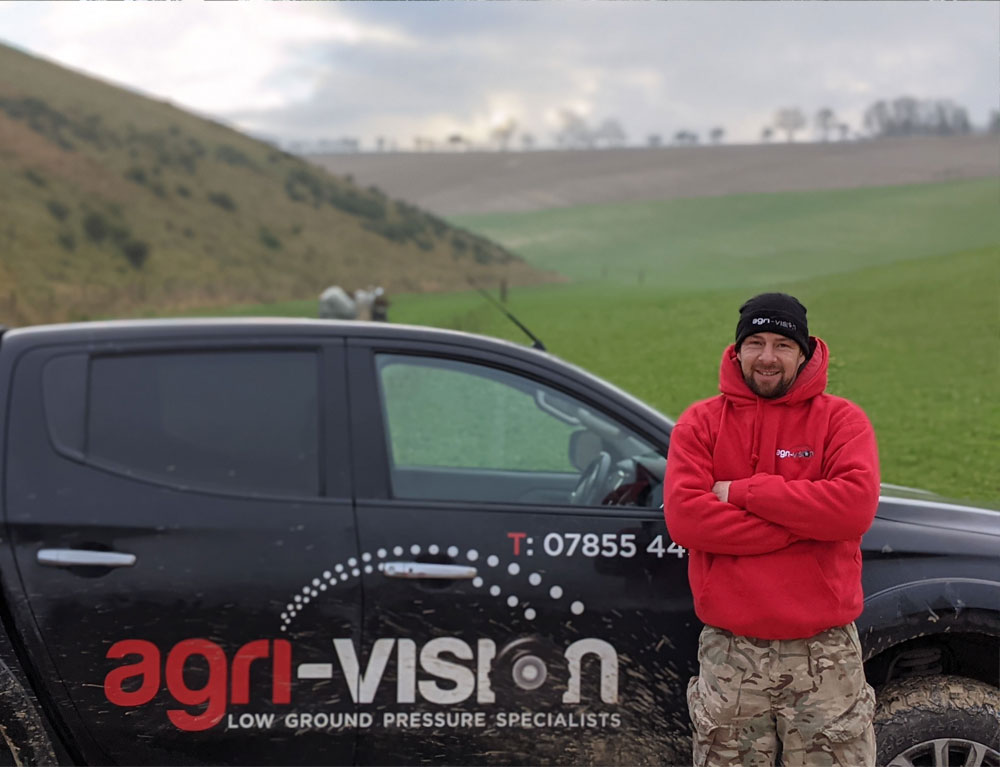 Barry at Agri-Vision