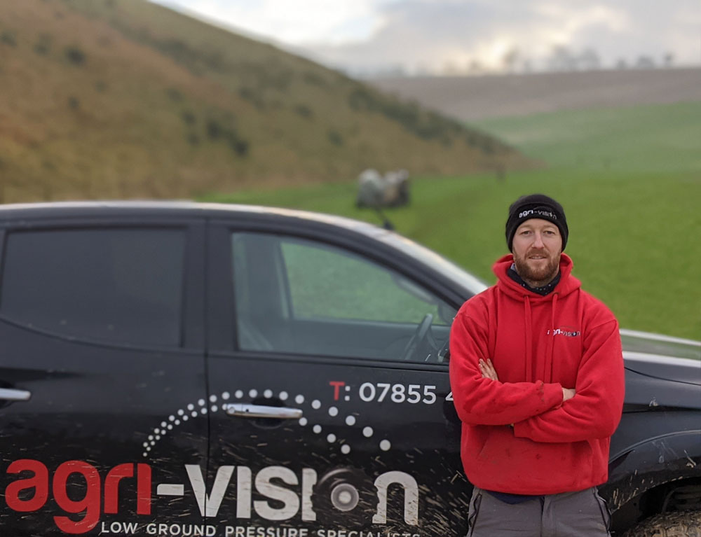 James at Agri-Vision