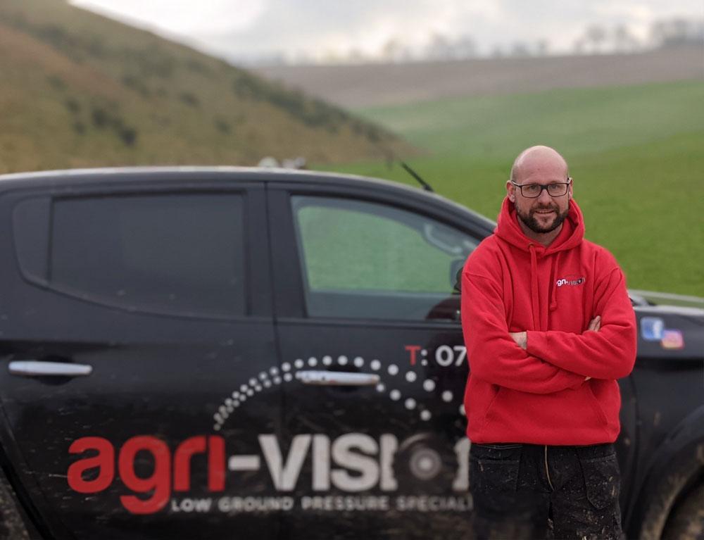 Mike at Agri-Vision
